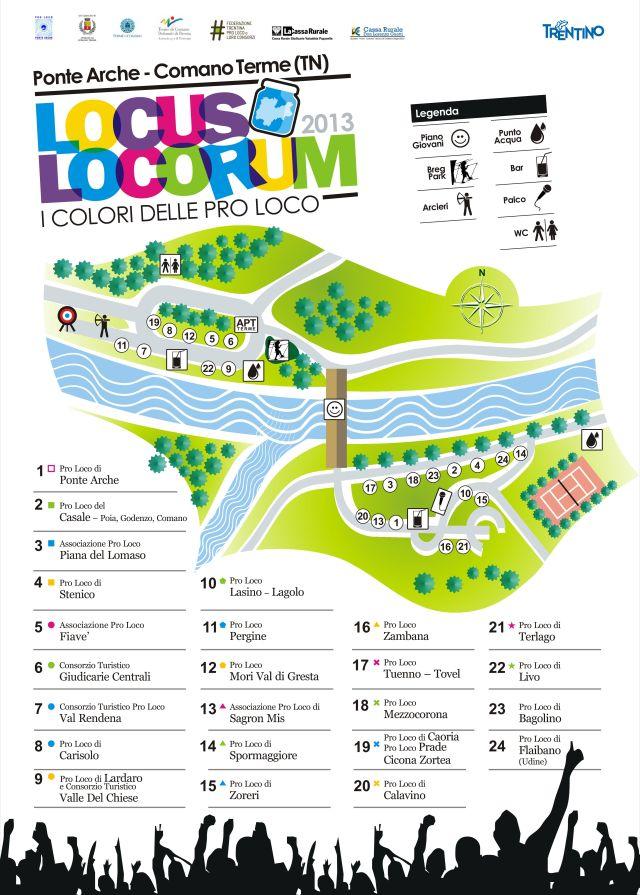 Cartina Pro Loco - Locus Locorum
